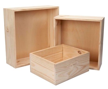 Basket - solid straight sides (2)