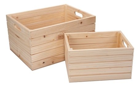 Fruit boxes - no stain