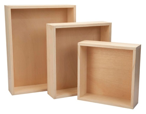 Hamper-solid straight sides